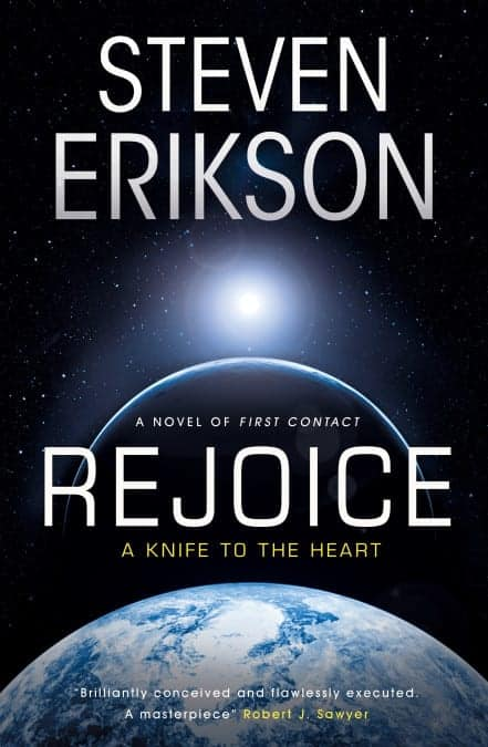 "Review: ""Rejoice, A Knife to the Heart"" by Steven Erikson"