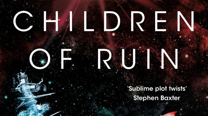 Children of Ruin by Adrian Tchaikovsky REVIEW