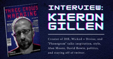 INTERVIEW: KIERON GILLEN
